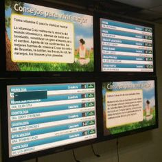 Hospital installs a Digital Signage interactive directory with community news and Social Media integration #Venezuela