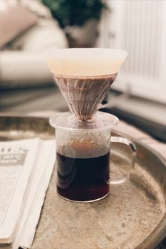 The iconic Hario is one of the most popular and simple ways of brewing coffee, producing an unbeatably clean and delicate cup ready to start your morning right. Coffee Uses, Coffee Love, Aesthetic Coffee, Caffeine Addiction, Black Liquid, V60 Coffee, Coffee Drinks, Coffee Beans, Simple Way