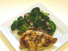 Oven Roasted Balsamic Chicken - South Beach Diet Style