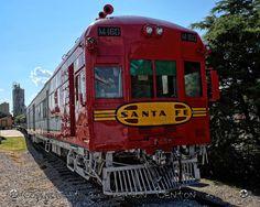 Santa Fe Locomotive in Grapevine Texas