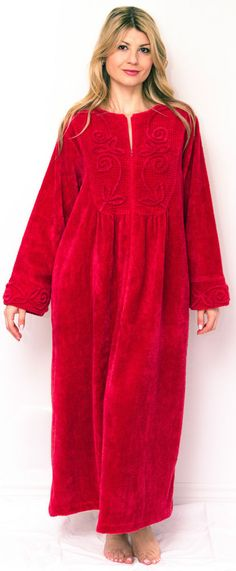 Cotton Chenille Robes Luxury Bathrobes Dressing Gowns 62a5717de