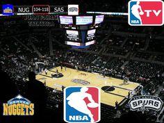 NBA 2016/17: Denver Nuggets 104-118 San Antonio Spurs