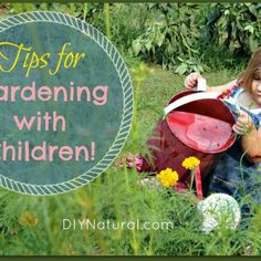 Garden With Children - Tips To Get Kids Interested in Gardening