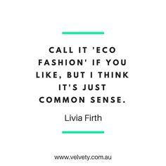 http://www.velvety.com.au Ethical fashion