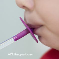 Oral motor therapy works on the oral skills necessary for proper speech and feeding development. Z-Vibes, straws, Lip Bloks, and chew tools are excellent ways to exercise the mouth muscles. Speech Language Therapy, Speech Language Pathology, Speech And Language, Oral Motor Activities, Speech Therapy Activities, Blue Lips, Sensory Processing Disorder, Gross Motor Skills, Special Needs Kids