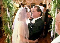 "Lorraine Bracco & Ray Liotta as Karen & Henry Hill in  ""Goodfellas"", 1990 #Wedding"