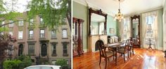House of the Day: 376 Union Street...I love this Carroll Gardens block.