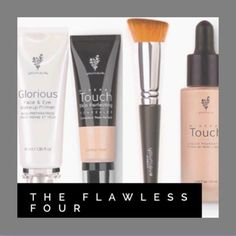 "LAST Opportunity!  June Kudos is over TONIGHT at Midnight!    Get Your Younique ""Flawless Four"" TODAY!  You Get:  Primer, Foundation, Foundation Brush"