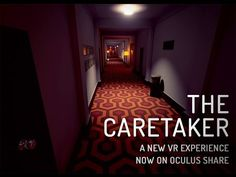 The Caretaker | VR CREED We are in Horror VR mood lately! The Caretaker is a VR experience which once taken, won't be forgotten easily! But in the end, is all about remembering the feelings, right? ‪#‎virtualreality‬ ‪#‎vrcontent‬ http://www.vrcreed.com/apps/the-caretaker/