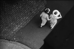 Saul Leiter's black and white works
