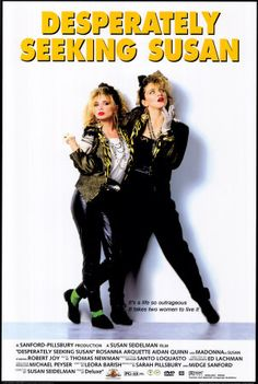 80s movie posters | Desperately Seeking Susan