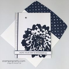 Stampin Up Cottage Greetings Card Idea - Mary Fish Stampinup