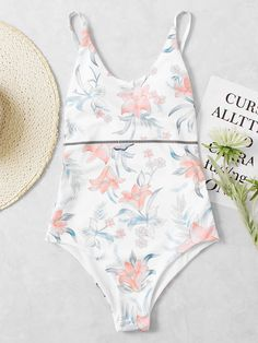 Shop Calico Print Drop Arm Low Back Swimsuit online. SheIn offers Calico Print Drop Arm Low Back Swimsuit & more to fit your fashionable needs.