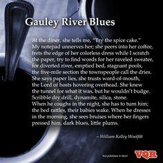 """""""Gauley River Blues"""" by William Kelley Woolfitt #poem #poetry #instapoem"""