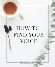 Struggling to find your voice or develop your brand as a entrepreneur, blogger, or artist? Here are 5 strategies to find your voice.