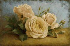 Схема вышивки «роза желтая» - Схемы вышивки - Reew - Авторы - Портал «Вышивка крестом»