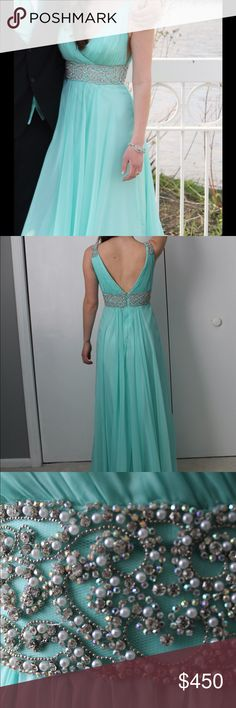 La Femme Prom Dress- #19802 - Size 2 - La Femme Prom Dress, Size 2, Originally bought at Special Occasions in Batavia, an authorized seller of La Femme. Only worn once and I still have the tags La Femme Dresses Prom