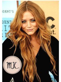 strawberry blonde hair blake lively rachel mcadams mary-kate olsen hair copy   Flickr - Photo Sharing!