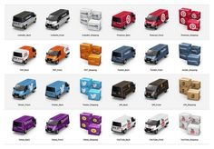 Container icon set 4 by antrepo, via Flickr