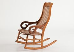 Antique Lincoln-Style Rocker