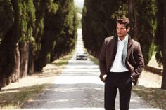 Another from Marks and Spencer by @Arnaldo Colon Colon Anaya-Lucca - shot on location in Tuscany  - David Gandy