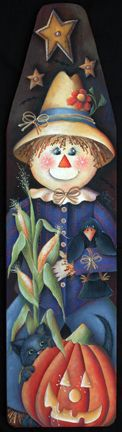The Decorative Painting Store: Autumn Harvest Scarecrow Ironing Board, All Pattern Packets