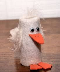 Duck Finger Puppet Craft: How to Make a Duck Puppet Using a Film Container or Pill Bottle Medicine Bottle Crafts, Pill Bottle Crafts, Old Medicine Bottles, Pill Bottles, Fun Crafts For Kids, Preschool Crafts, Diy For Kids, Crafts To Make, Arts And Crafts