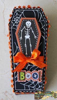 Halloween treat boxes - Crafty Little Bee