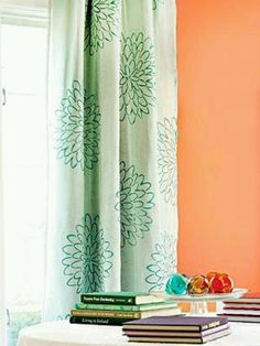 Dress up your curtains