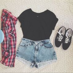 cute hipster shoes | vans shirt shoes shorts hipster cute tumblr blouse jacket outfit ...