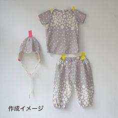 Shop | Category: Nani Iro by Naomi Ito | Product: Nani Iro Pattern - Baby Layette - Size 80cm