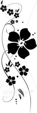 vine flower clip art - Google Search