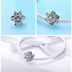 """This beautiful """"Silver Charm"""" reminds you of the coming of winter and the first snowflakes Detail Material: 925 Sterling Silver Theme: Winter Pandora, Engagement Gifts, Silver Charms, Silver Color, Fashion Accessories, Fashion Jewelry, Snowflakes, Charmed, Sterling Silver"""