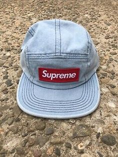 bcc95941 Supreme Hat Washed Chino Twill Camp Cap Fat Patch New With Tags #fashion # clothing