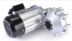 Двигатель постоянного тока Dc 48V 60V 72V 5500W ,