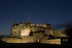 Image result for edinburgh castle night time
