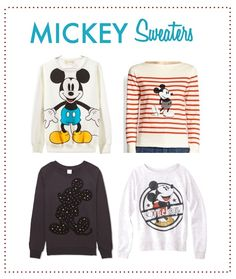 It's cold outside: the best Mickey sweaters for the holiday season. I love a vintage Disney top