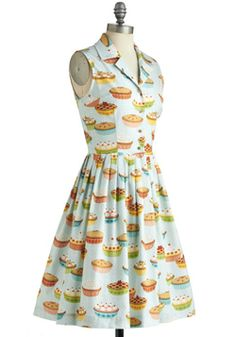 My Kind of Pie Dress, #ModCloth  I will have this dress but it stays out of stock!