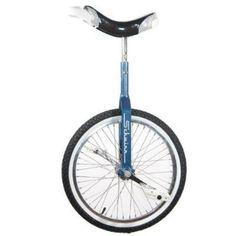 "Schwinn 20"" Unicycle - Retro Blue - http://www.bicyclestoredirect.com/schwinn-20-unicycle-retro-blue/"