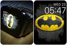 Best thing about WatchOS2 is it allows me to personalise my device and get creative. I made this face myself. My hope is for an analog watch face that I can put a photo behind. #Batman #Apple #watchOS2 #watch #Batwatch