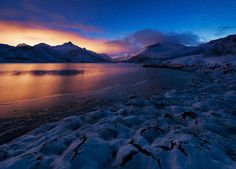 Frozen Gold - Norweigan Fjords by Felix Inden