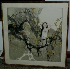 20131 $39,999 or best offer - asian youn gitl in nude - artist signed - no frame - free ship worldwide or pick up in sarchi