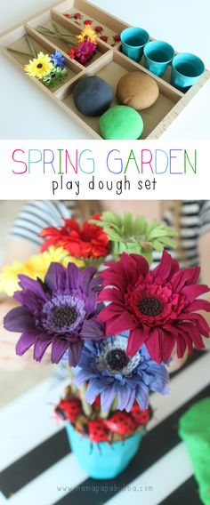 Spring Garden Play Dough Set | Mama.Papa.Bubba..png