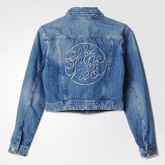 adidas Selena Gomez Denim Jacket - Virgin Blu Dnm | adidas UK