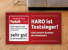Test winner: HARO Parquet Plank 1-Strip Oak Sauvage