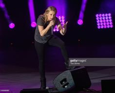 Comedian Iliza Shlesinger performs at Funny Or Die's Oddball Comedy and Curiousity Festival 2016 at Irvine Meadows Amphitheatre on October 1, 2016 in Irvine, California.