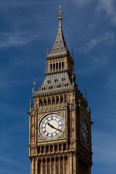 Big Ben - The Clock Tower of the Palace of Westminster Big Ben, Uk Destinations, Old Clocks, Westminster, Where To Go, Travel, Hot Spots, London England, English