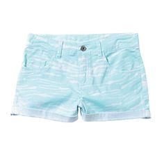 A'nD Denim Tie-dye Shorts