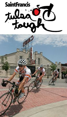 Tulsa Tough is a three day cycling event for professional riders, casual bikers and even spectators. Some of the routes go past historic landmarks, down the scenic Arkansas River and through some of the city's best retail and entertainment districts.
