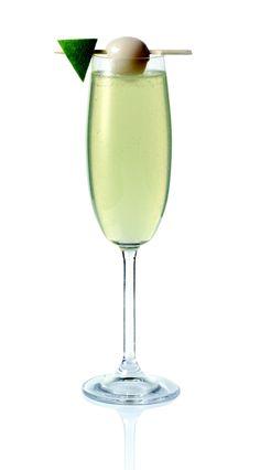 Sparkling #Margarita koktél - Excellia #Tequila Reposado, Yuzulé